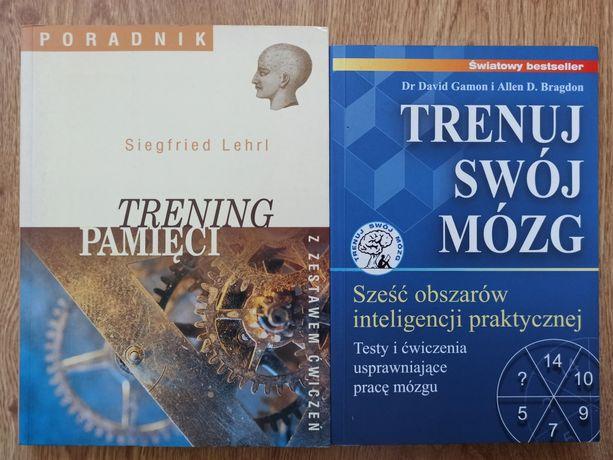 TRENING PAMIĘCI - Trenuj swój mózg(2 książki)