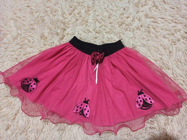 Красивая юбка с фатином