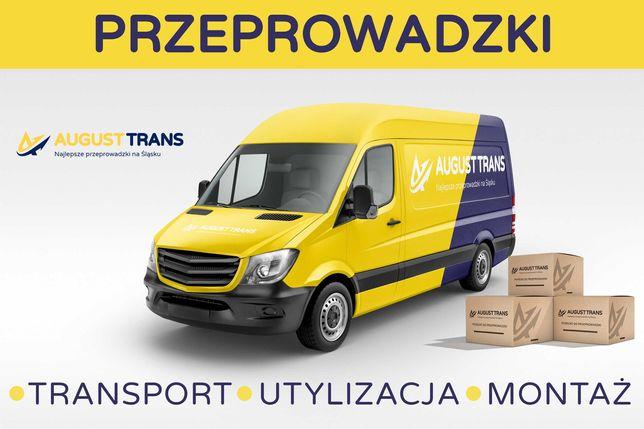 Przeprowadzki, Transport, Noszenie, Montaże - szybko i solidnie!