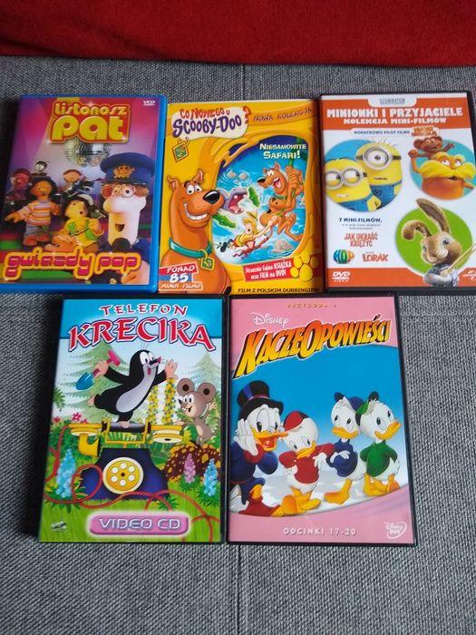 5 różnych bajek DVD Kościan - image 1