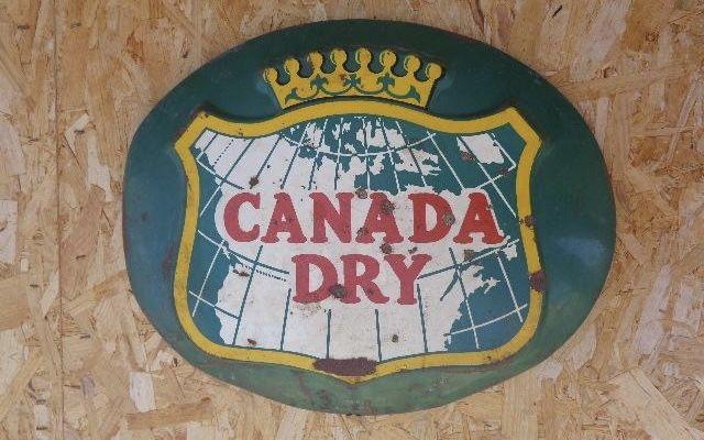 Chapa Antiga Canada Dry 46 cm