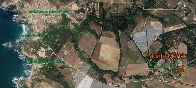 A 2km da Zambujeira do Mar -  aluguer Propriedade/Casa com 0,6ha/120m2