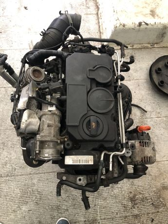 Двигатель Skoda Volkswagen BMM 2.0 дизель