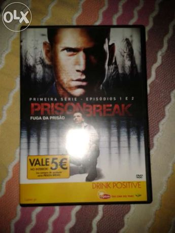 Dvd da Série Prison Break