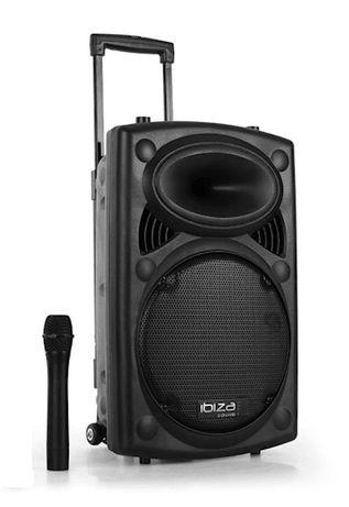 Kolumna aktywna mobilna 350W Ibiza E-134