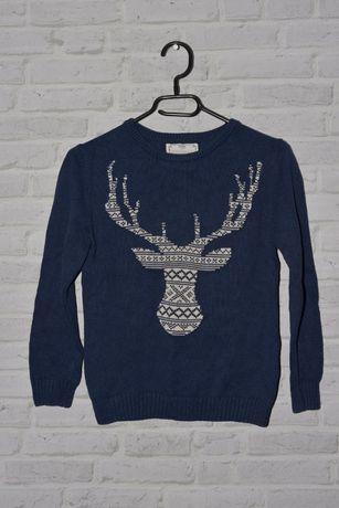 Zara Kids Sweter wełniany dla chłopca rozm. 140