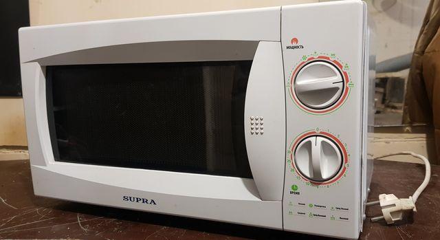 Печь микроволновая supra (микроволновка)