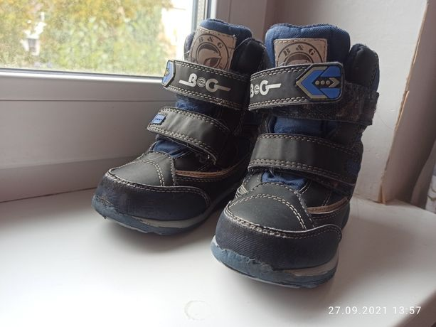 Зимние ботинки для мальчика, 28 размер
