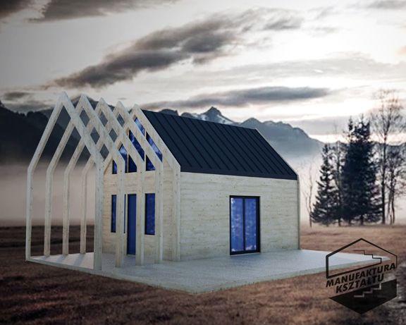 Domek na zgłoszenie 35m2, Bez pozwolenia ! Zaprojektujemy i zbudujemy!