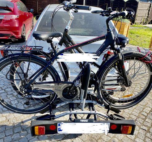 Bagażnik thule na hak na 3 rowery