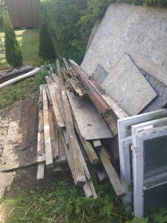 Drewno plus stare okna