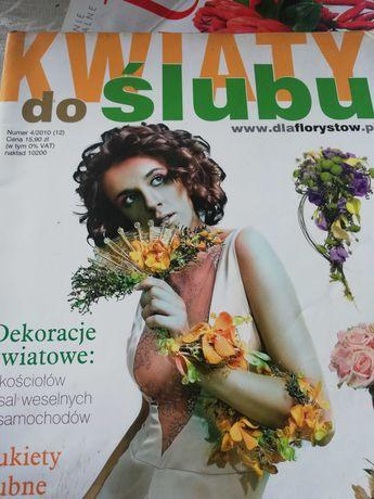 Bukiety ślubne czasopisma
