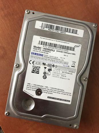 Hdd 500 GB под востановление + подарок