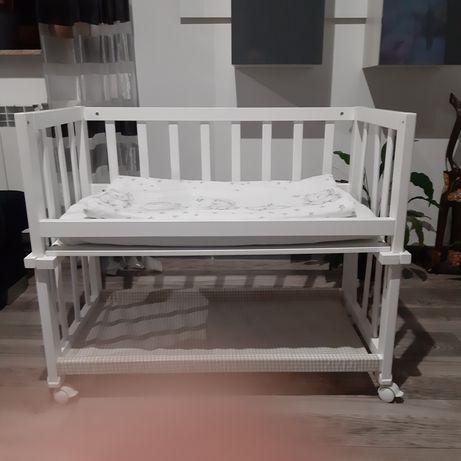 Łóżeczko dostawka dla noworodka 90c45x75