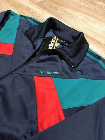 80s Adidas Disco Чайка спортивный костюм Австрия эластик