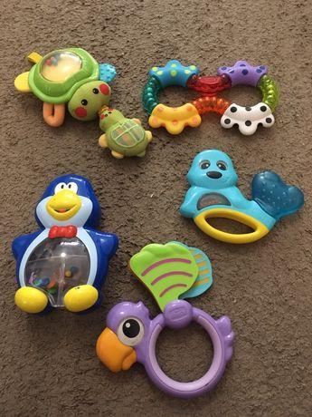 Lote mordedores/brinquedo bebe