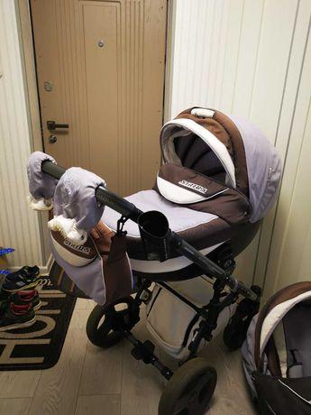 Angelina Sirius Turbo-коляска 2 в 1, после 1 ребёнка, покупали новую!