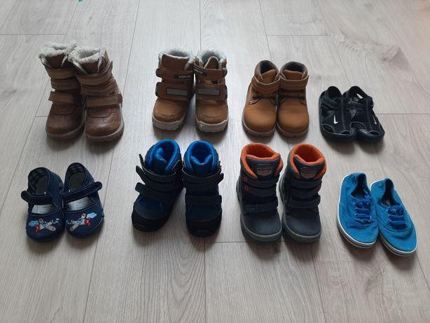Buty różne rozmiary