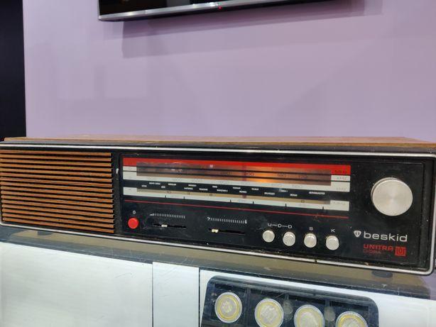 Zabytkowe radia PRL Beskid UNITRA Tola Marta Kasprzak Grundig MK2500
