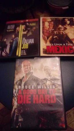 Oryginalne filmy DVD w jęz. angielskim 4 szt