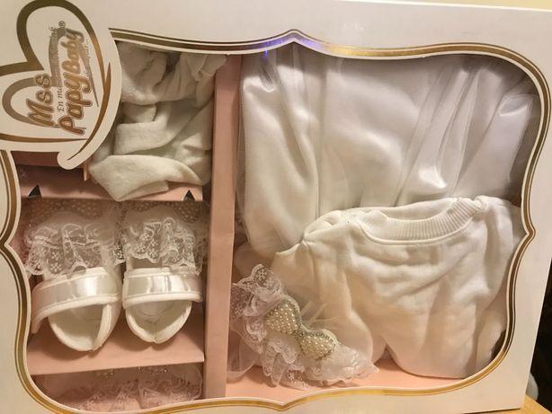 Набор для новорождённой девочки, для праздника либо крещения