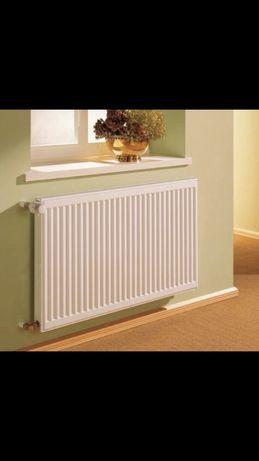 Стальной радиатор отопление 22,11 и 33 тип высота 300 мм.и 500 мм...