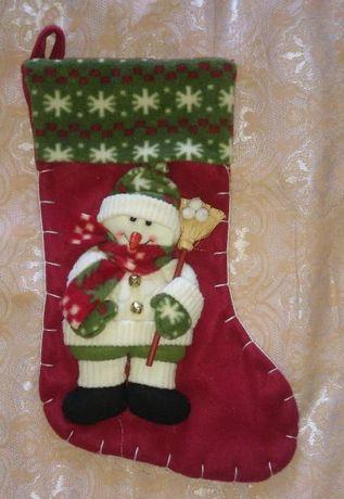 Новогодний носок/ сапожек для подарков