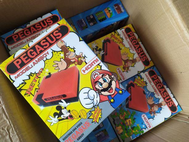 Gra Pegasus konsola Pegazus lepsze od PlayStation, gry Mario Contra