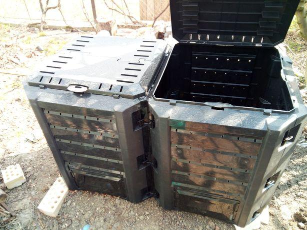 СУПЕР!!! Ящик для компосту і органічних відходів 2x400л Польща
