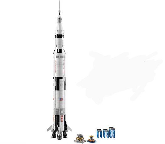 Klocki Lepin Rakieta Apollo Saturn V 2039 klocków