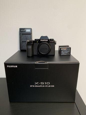 (NOVA) Fujifilm X-S10 com 3 Baterias + Carregador