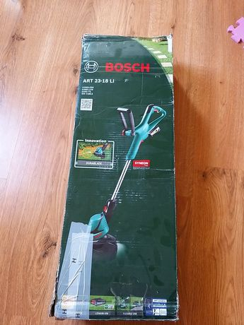 Nowa kompletna podkaszarka akumulatorowa Bosch