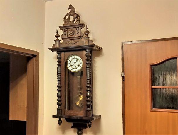 Junghans przepiękny stylowy zegar wiszący