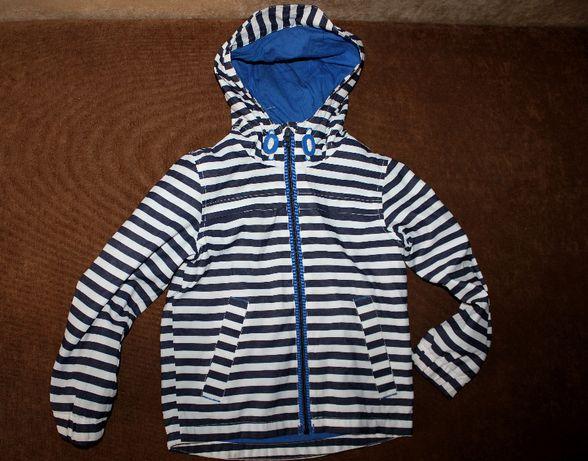 Куртка ветровка в полоску на 4-5 лет