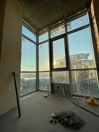 Панорамная 2ком 60м. 22 этаж River Stonе  вид на Днепр дом Сдан