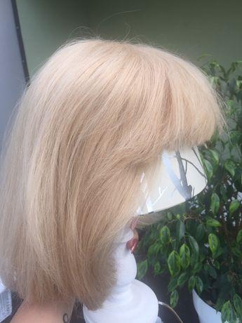 Peruka blond nowa naturalne włosy