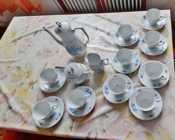 zestaw porcelany serwis Bogucice sygnatura 23 elementy