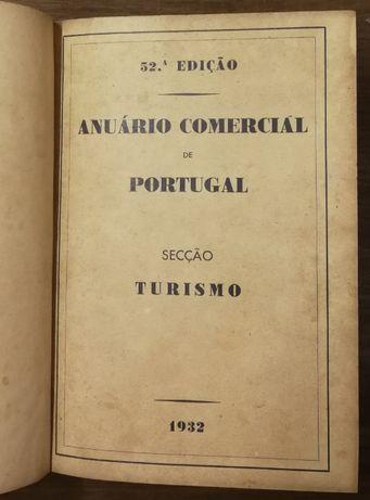 anuário comercial de portugal, secção turismo, 1932