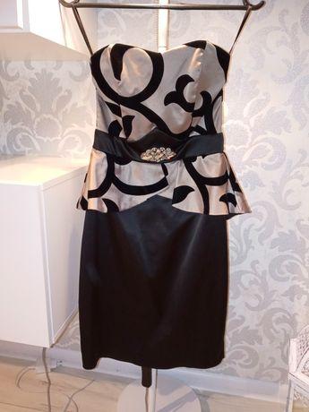 Sprzedam raz używaną sukienke bez ramiączek