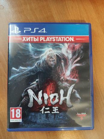 Nioh, диск для ps4 ps5