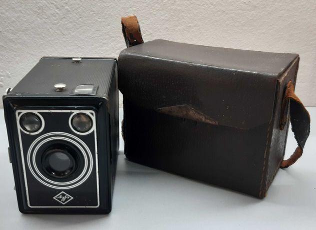 Agfa Box skrzynkowy ap. fot. z połowy XX wieku