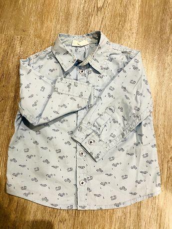 Koszula chłopięca długi rękaw Coccodrillo 80