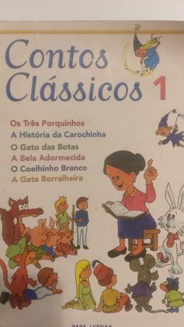 """Livro """"Contos Clássicos 1"""""""