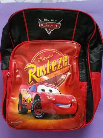 Plecak szkolny młodzieżowy Cars Auta samochody Rustize