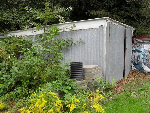 Rezerwacja - Duży blaszak/ garaż  7,5x3,60 m  H 2,25 m.