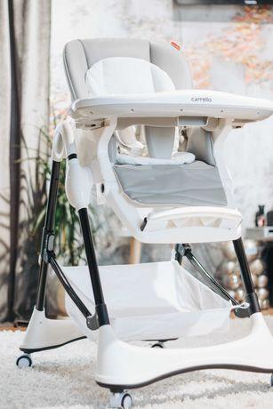 Качественный надежный стульчик для кормления ребенка Carrello Stella