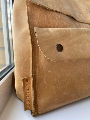 Рюкзак шкіряний Baglet