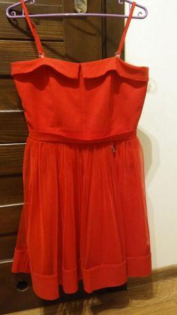 Czerwona sukienka Terry 40, wesele, studniówka