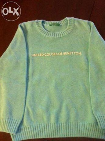 Sweat/camisola azul turquesa T2 Benetton