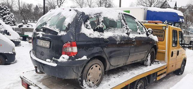 Renault Scenic 1.9 dci silnik skrzynia polos lampa maska klapa kola